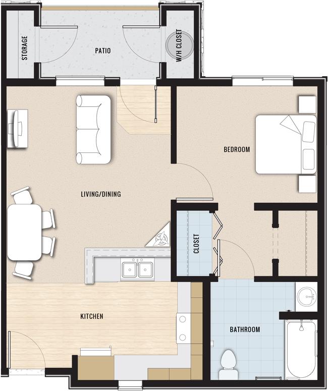 Cheap Apartments In California: Bella Vista Apartments